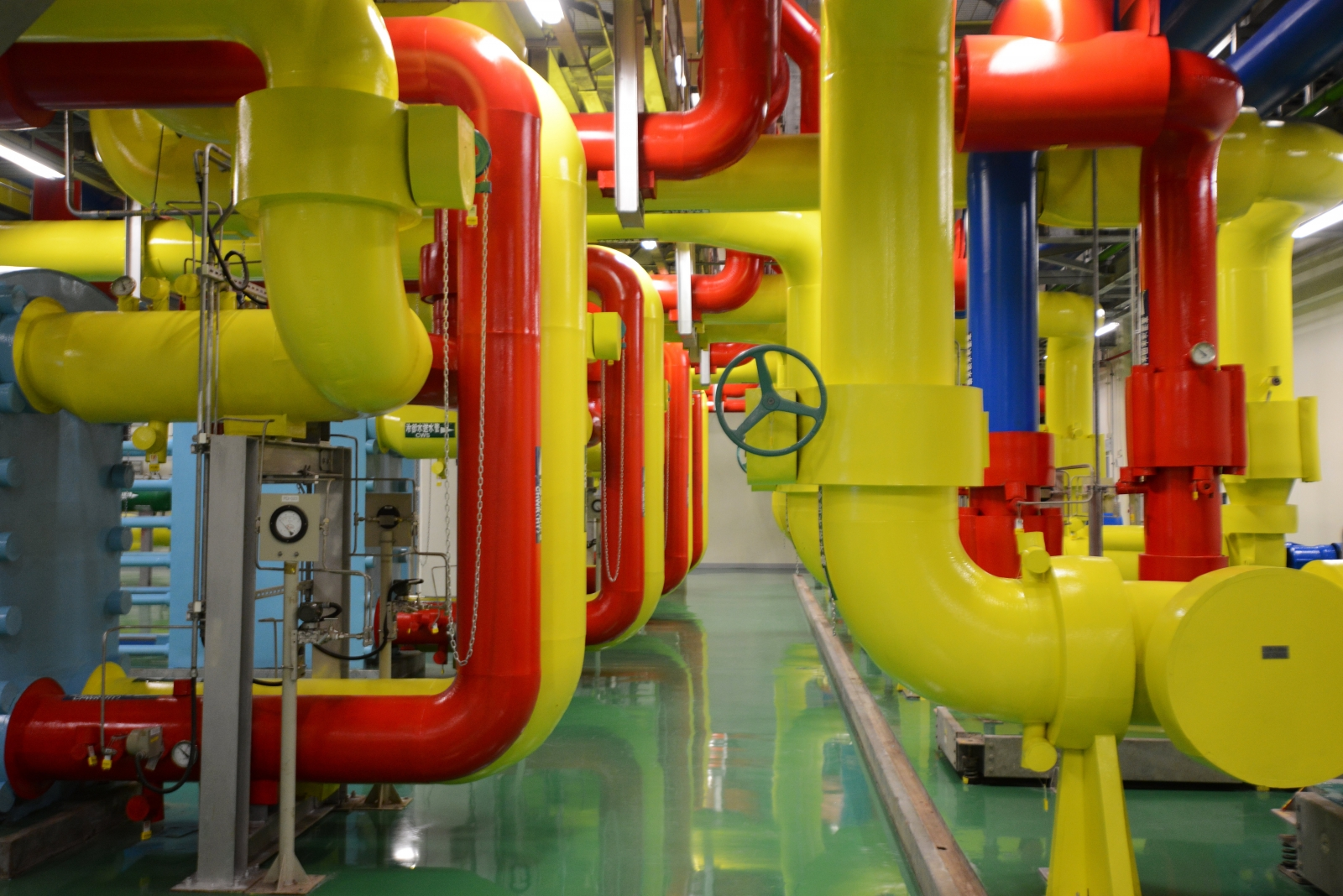 Google data centre power usage