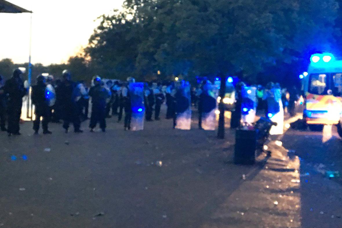 Hyde Park violence