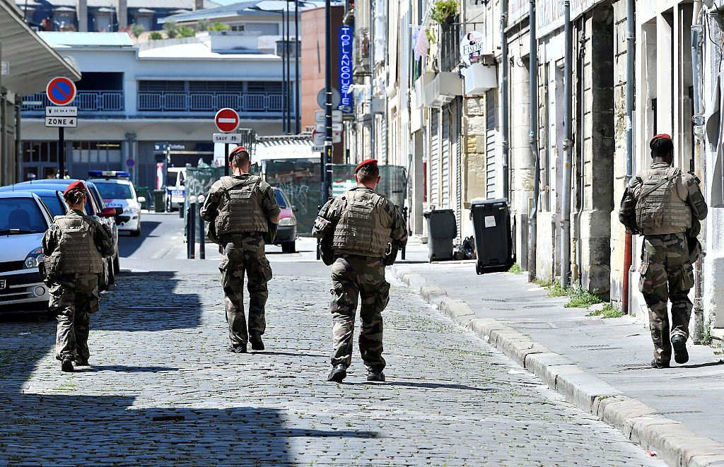 Soldiers Bordeaux
