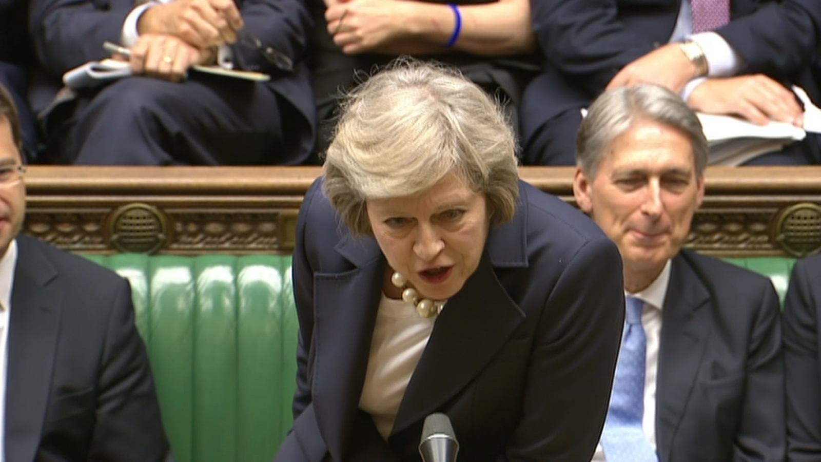 Theresa May mocks Jeremy Corbyn
