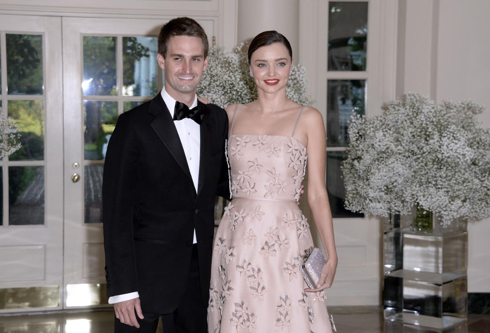 Snapchat founder Evan Spiegel to marry Victoria's Secret Angel Miranda Kerr