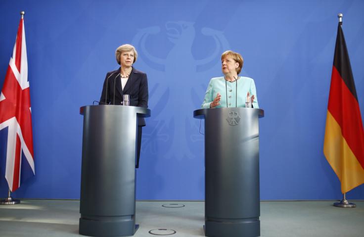 May and Merkel press conference