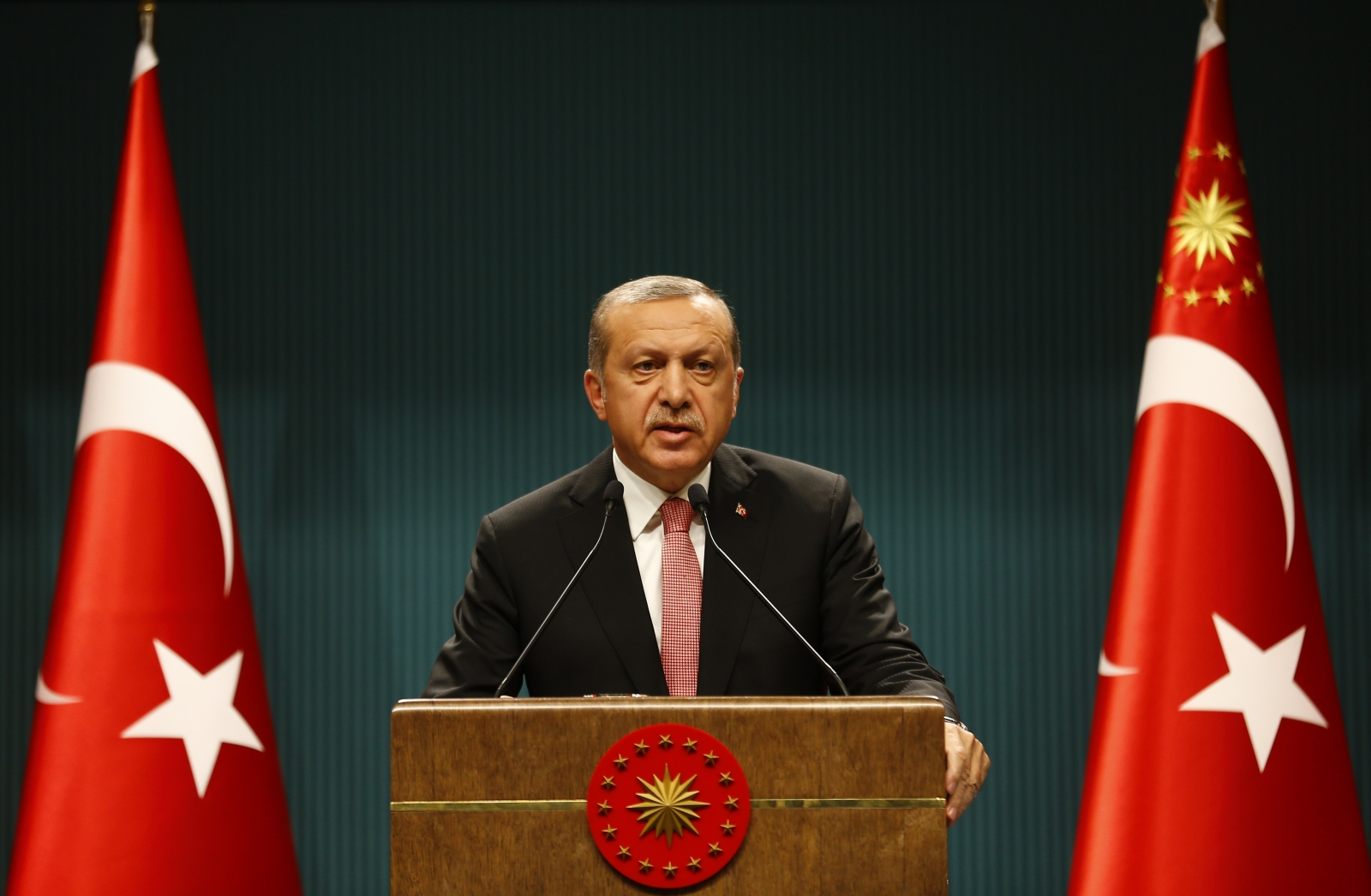 Turkey coup Erdogan speech