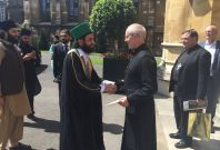 Mohammad Naqib ur Rehman meets Justin Welby