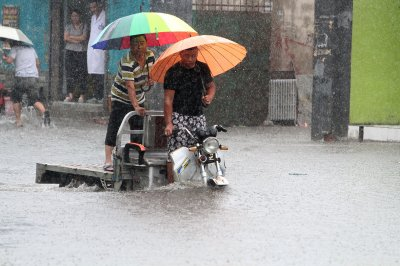 Beijing China floods