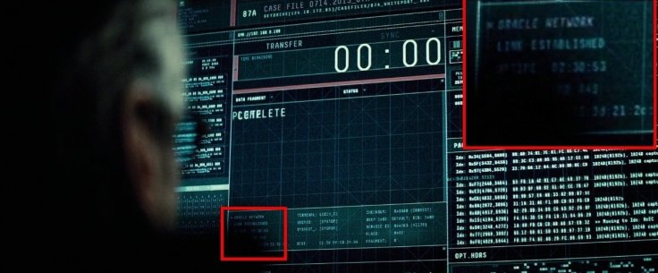 Batman v Superman Batgirl Easter egg