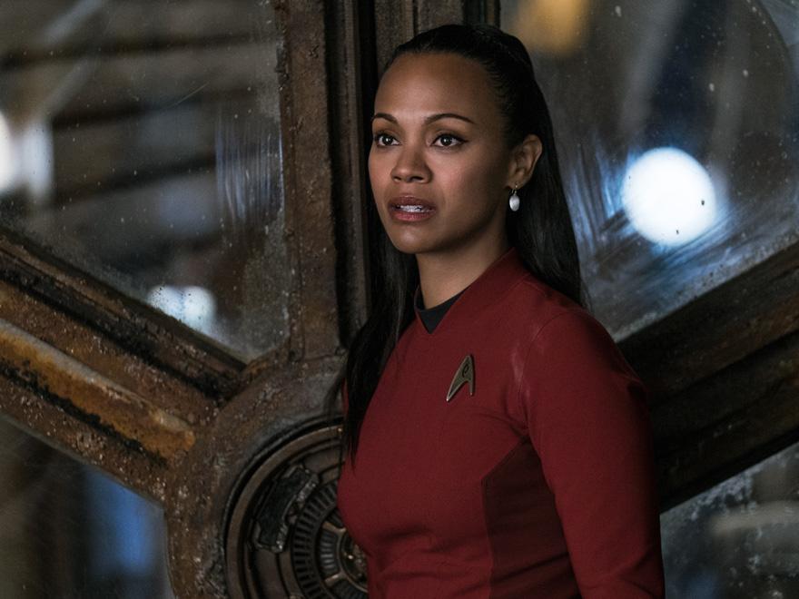 Zoe Saldana in Star Trek Beyond