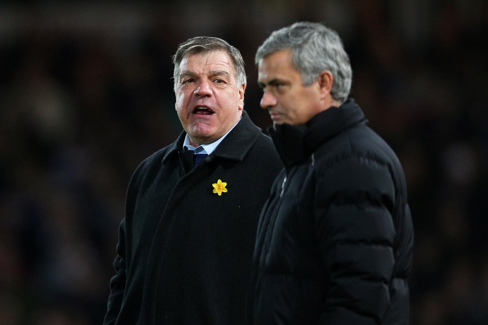Sam Allardyce and Jose Mourinho
