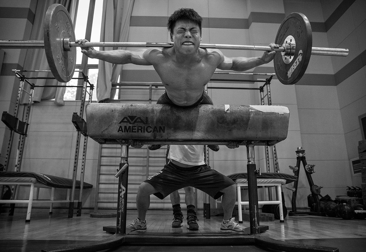Chinese weightlifting