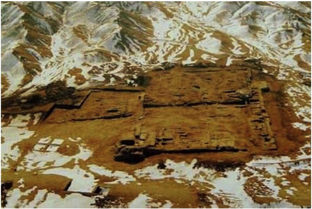 ancient toilet silk road