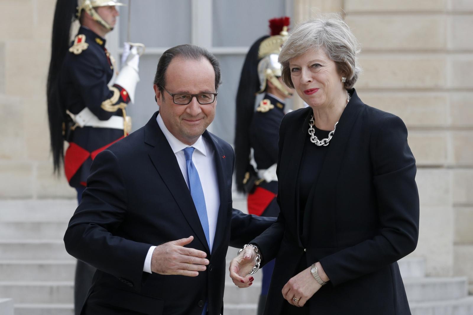 May secures deal on Calais border checks