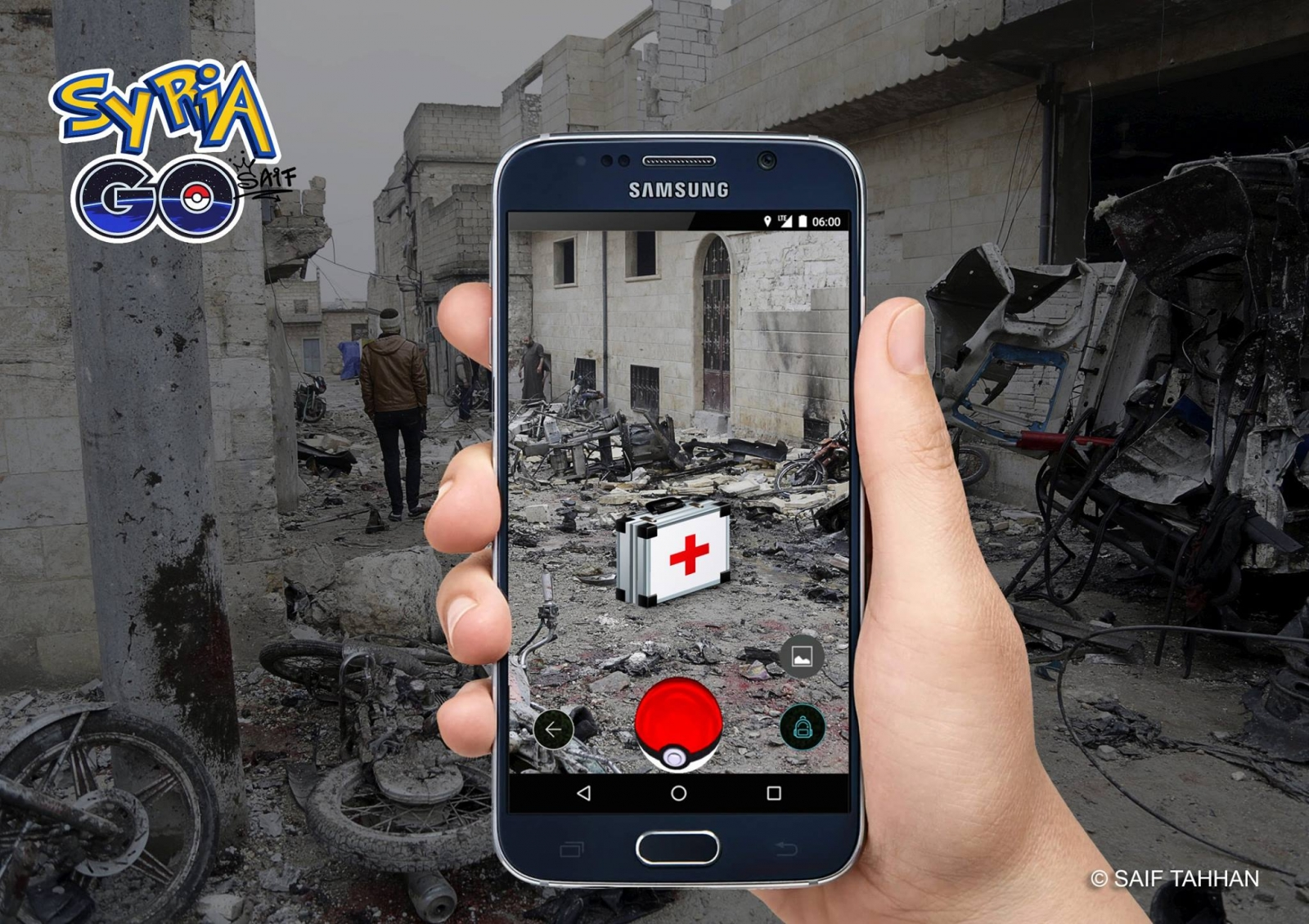 A medical kit on Syria Go