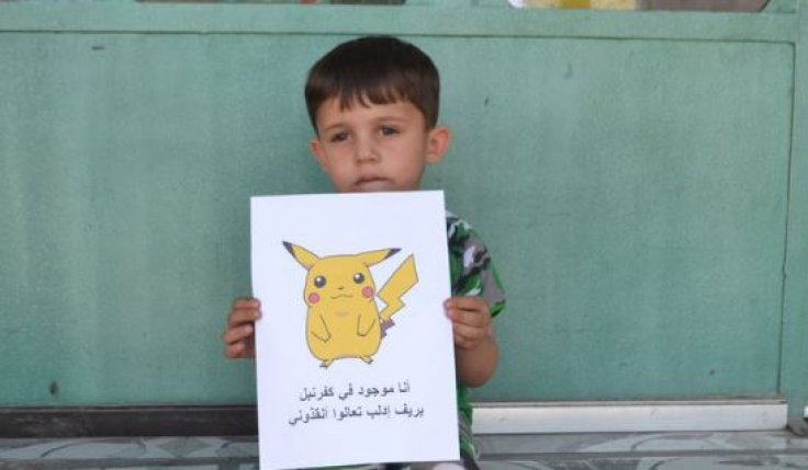 Pokemon Go Syria