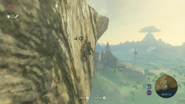 The Legend of Zelda Breath Wild screenshot