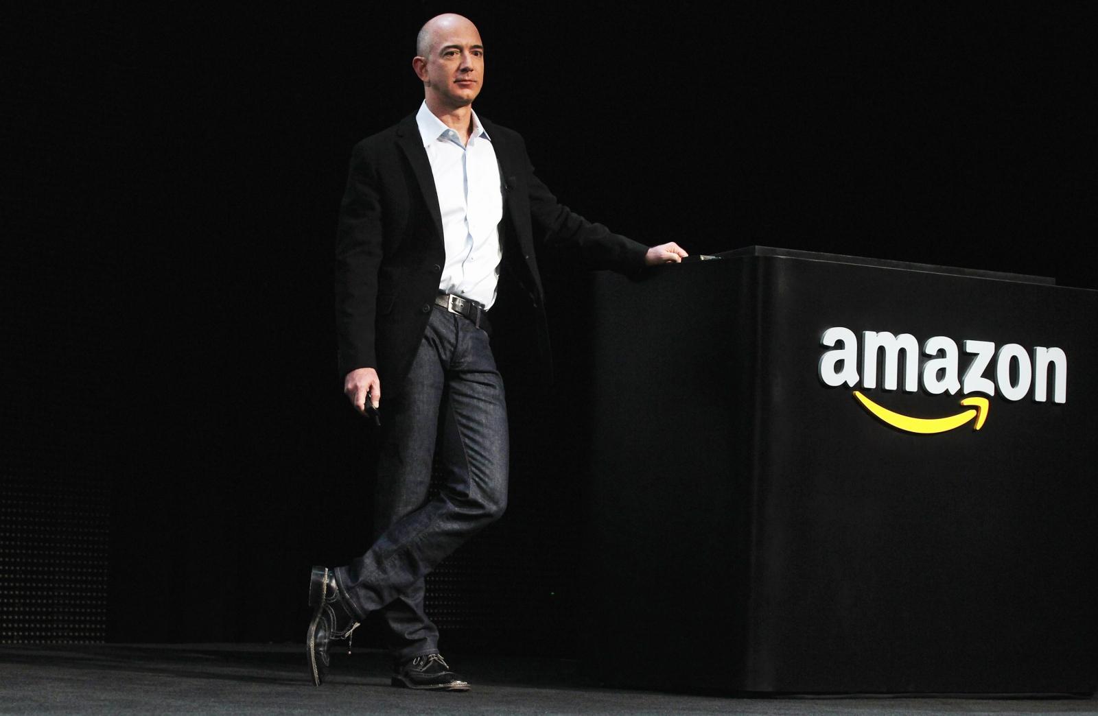 Jeff Bezos world's third richest person