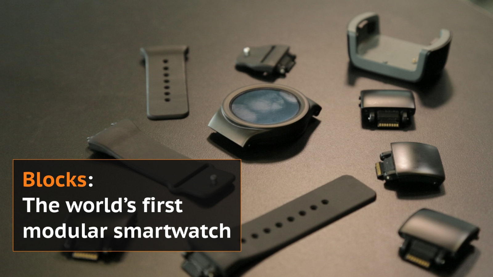 Blocks: The world's first modular smartwatch