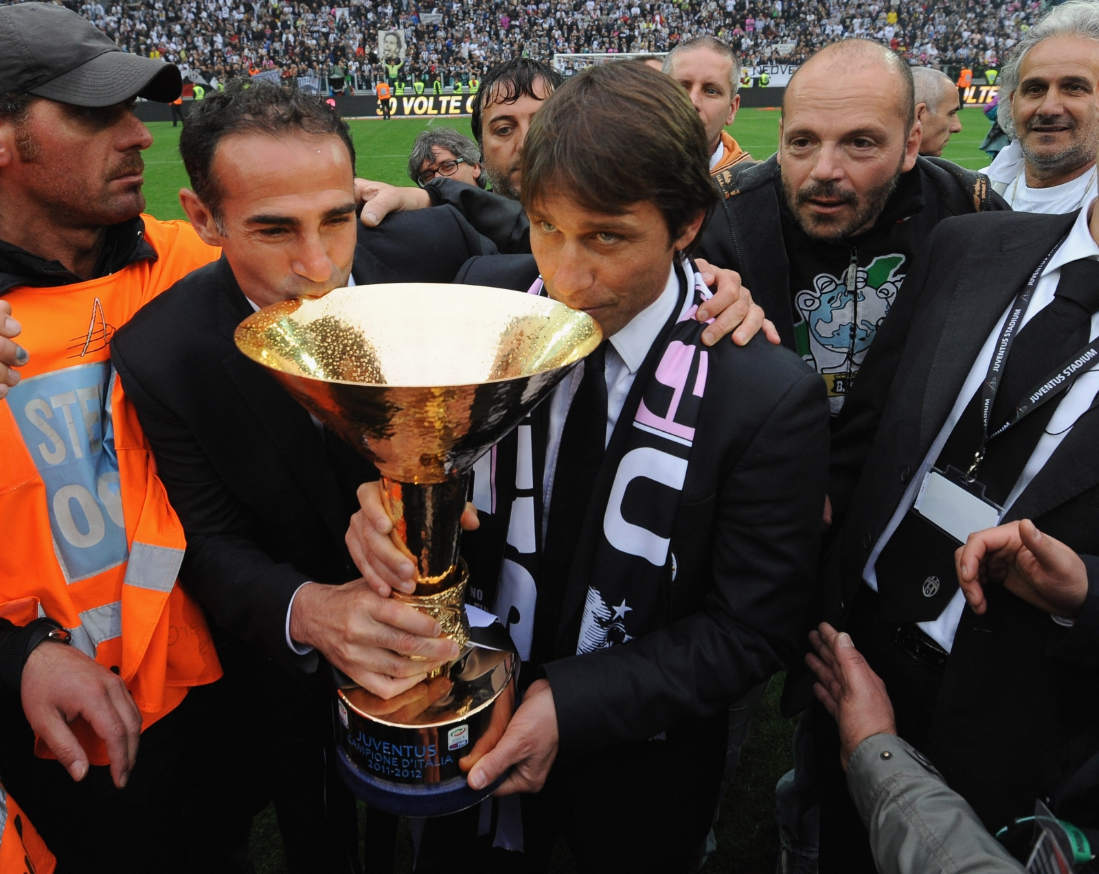 Angelo Alessio and Antonio Conte