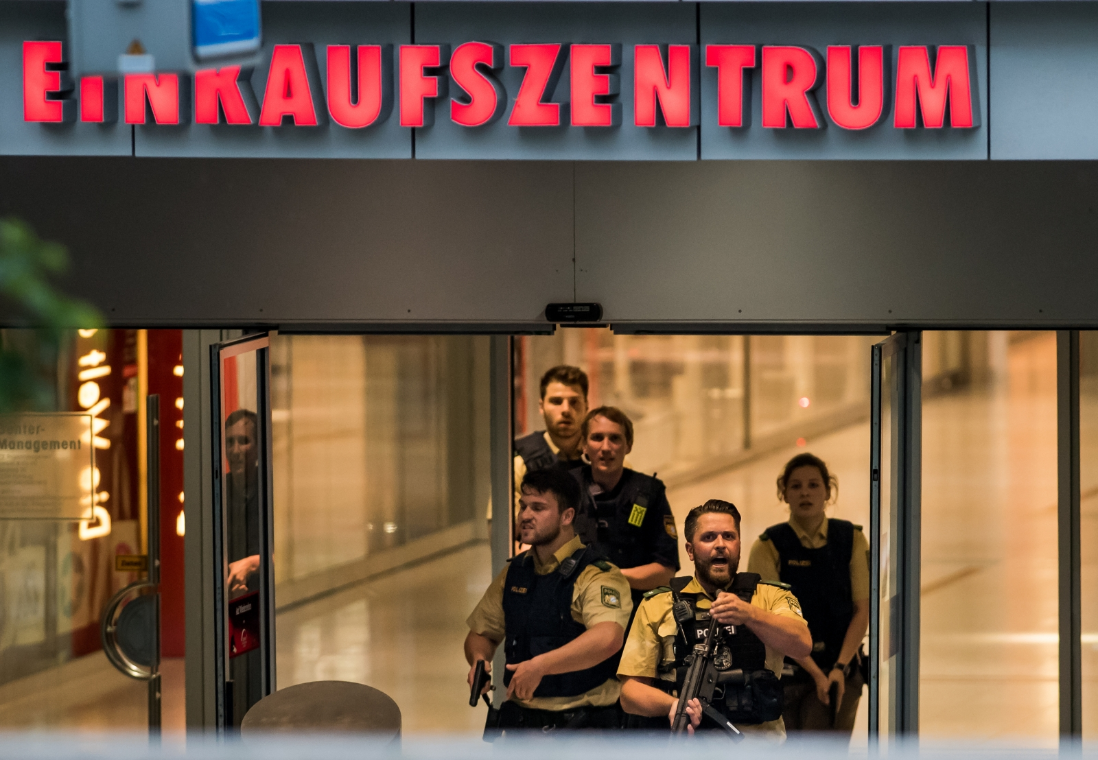 Munich mall shooting