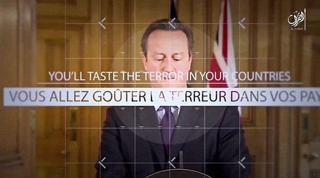 David Cameron Isis