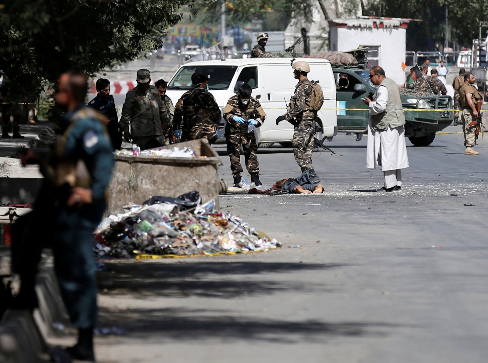 Afghanistan Kabul attack ISIS Taliban