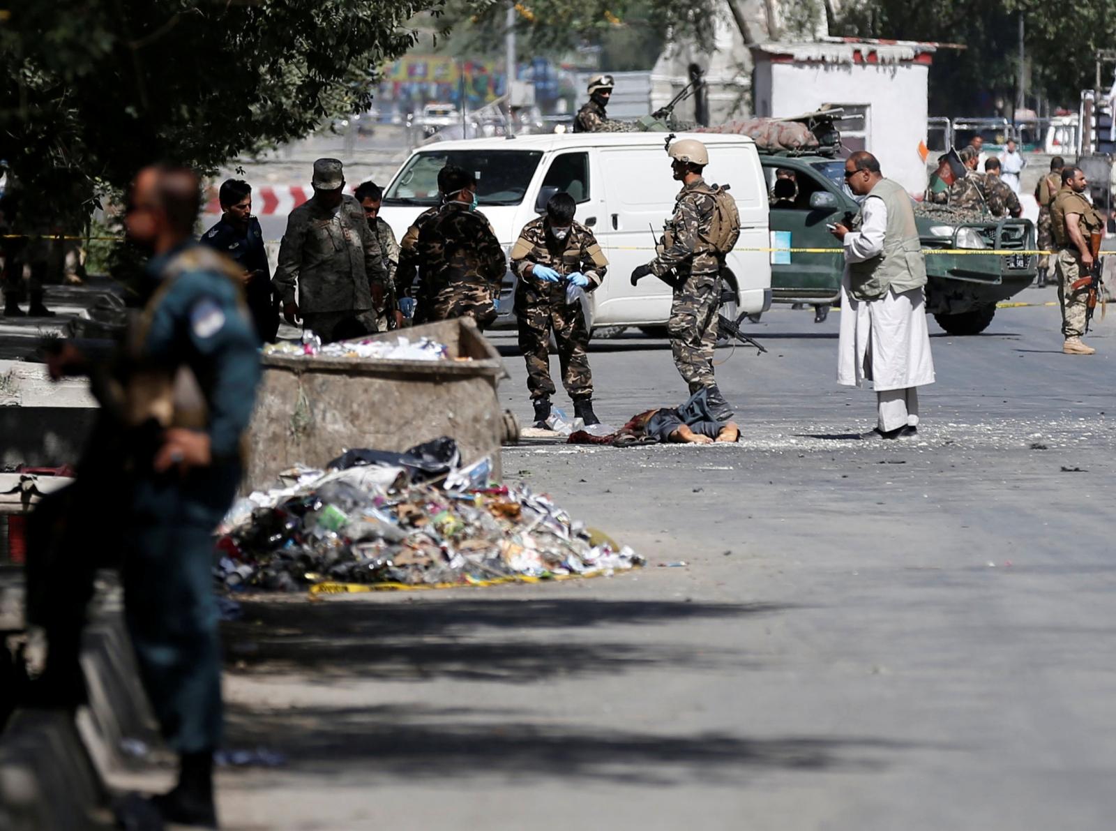 Afghanistan Kabul attack ISIS Taliban