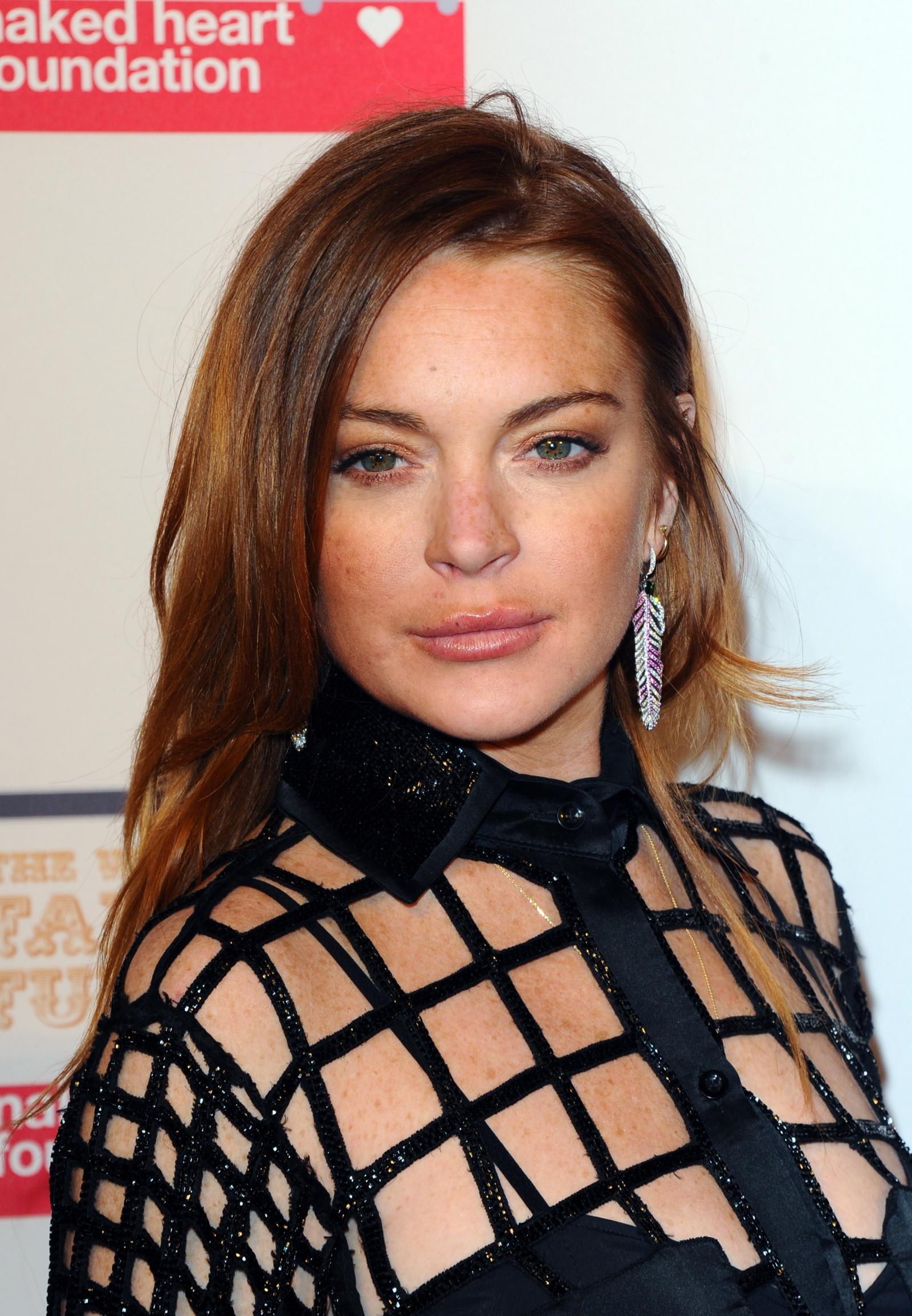 Lindsay Lohan and Egor Tarabasov
