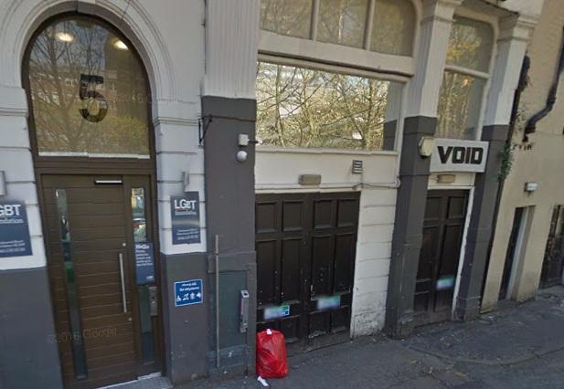 Void nightclub in Manchester