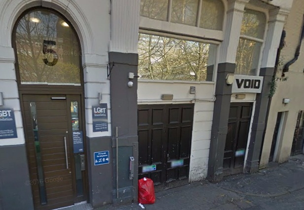 Void nightclub in Manchester