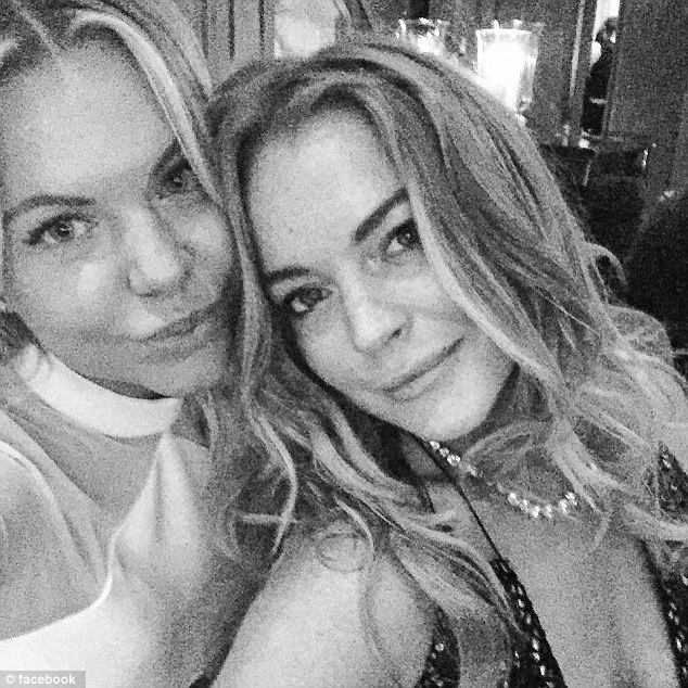 Lindsay Lohan and fashion designer Dasha Pashevkina