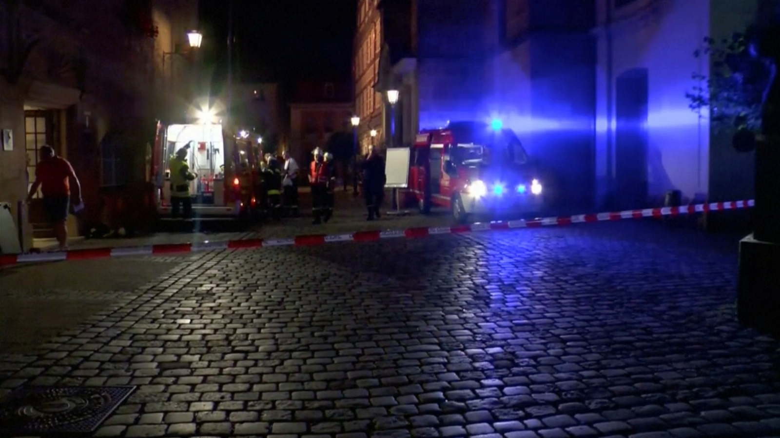 One killed, almost a dozen injured in Germany blast