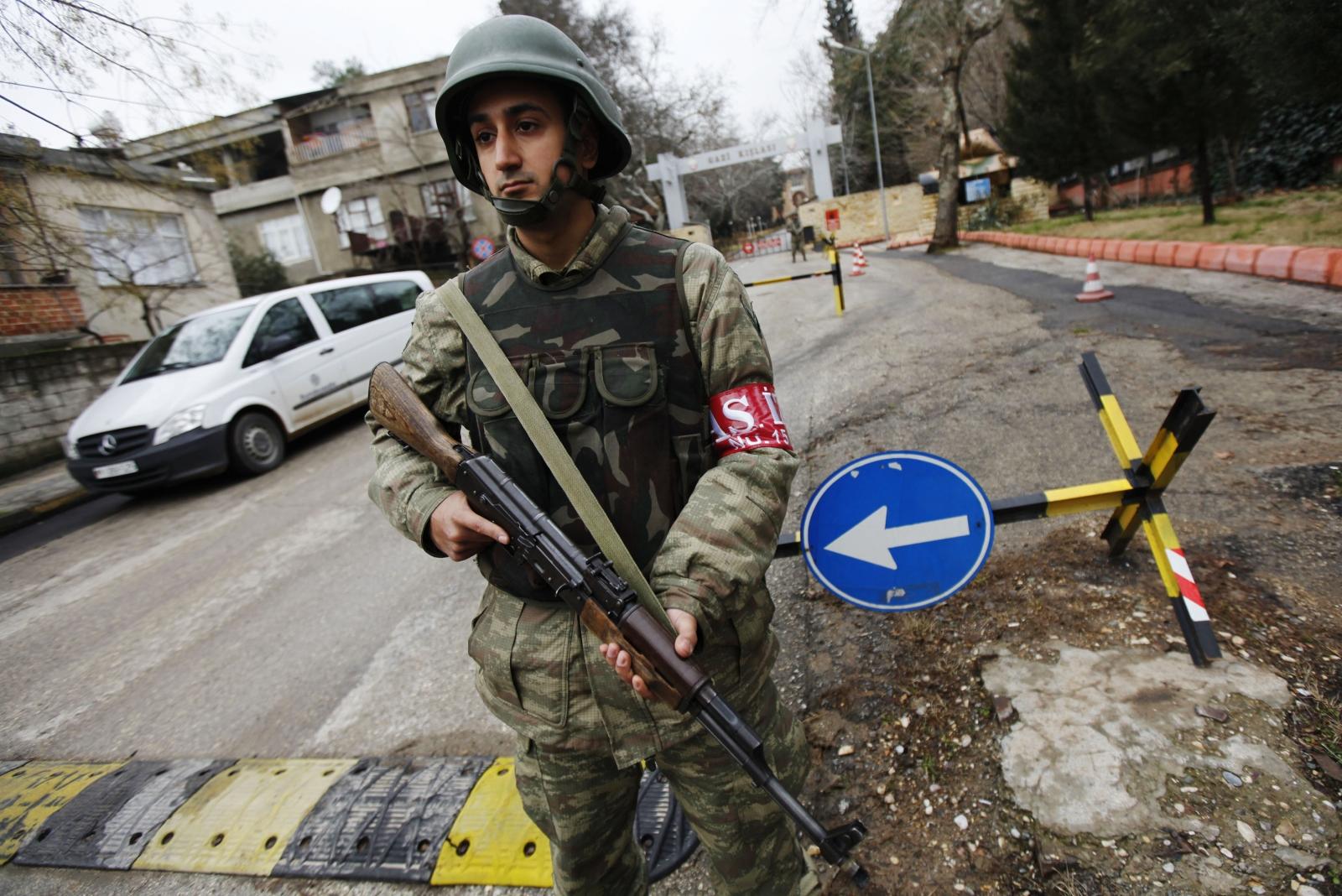 Turkey Nato military base fire