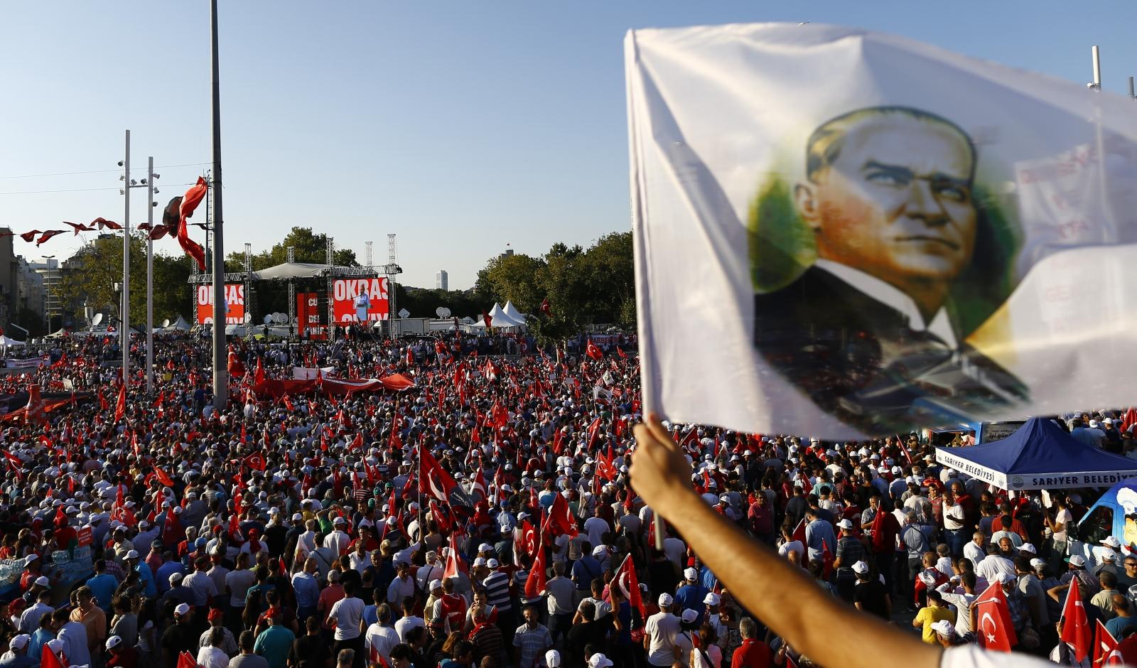 Turkey rally
