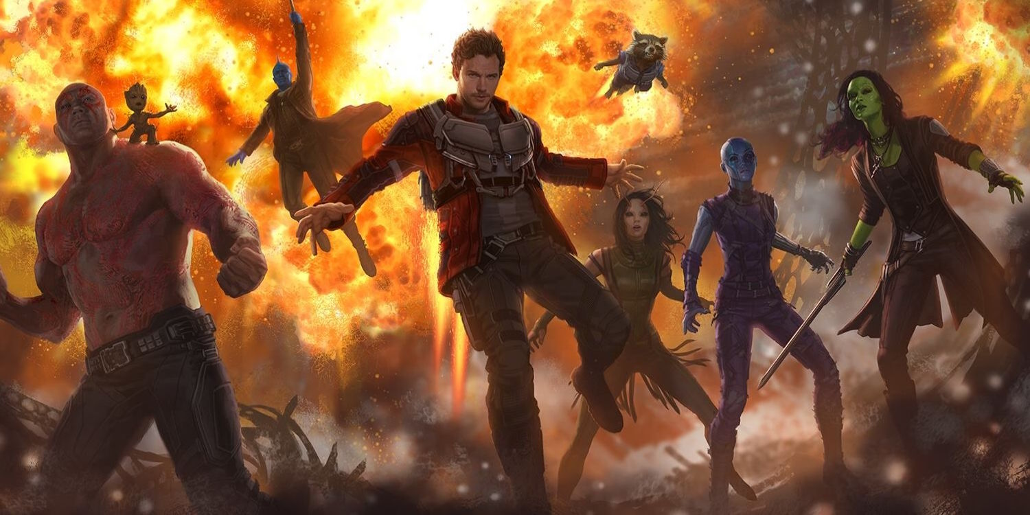 Guardians of the Galaxy 2 concept art