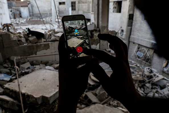 Pokemon Go craze hits Ukrainian 'terrorist-spotting' website set to launch own game to catch them all