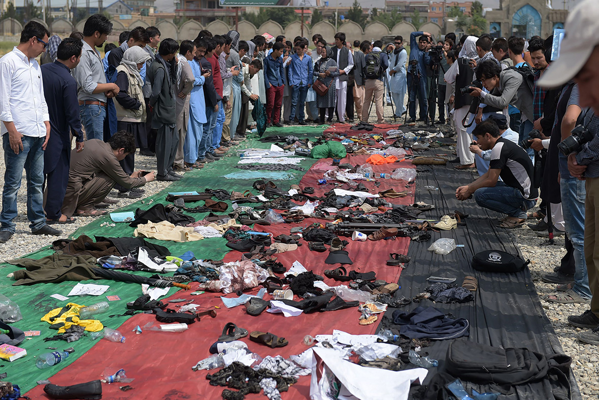 Kabul twin suicide attack