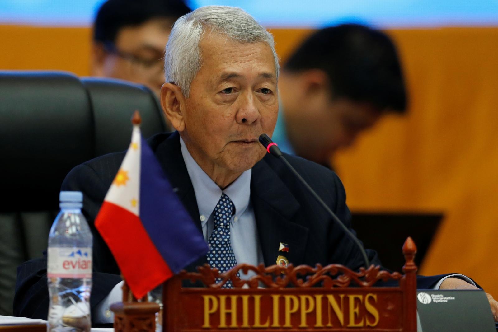 Philippine Foreign Secretary Perfecto Yasay
