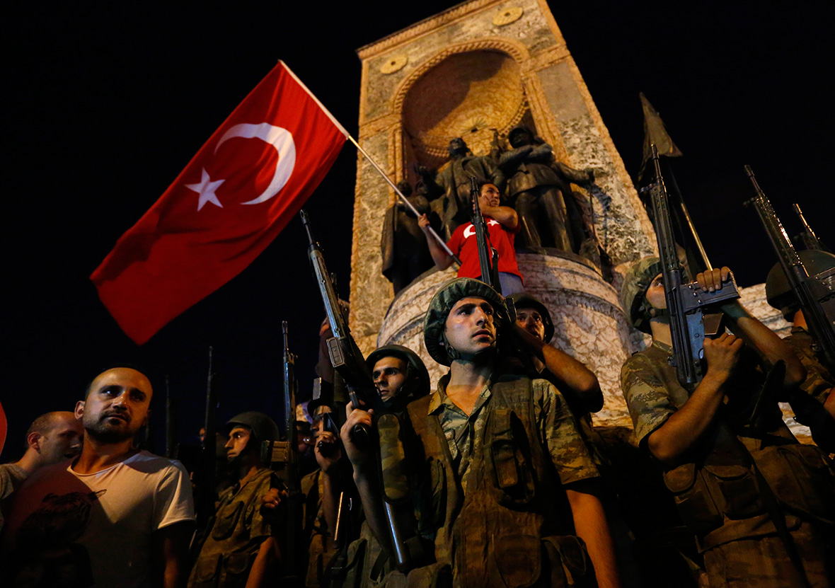 Turkey coup attempt