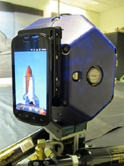 NASA Creates Google Nexus S Smartphone Powered Robots for Space Station