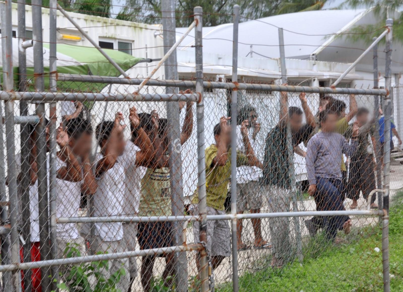 Australia immigration camps