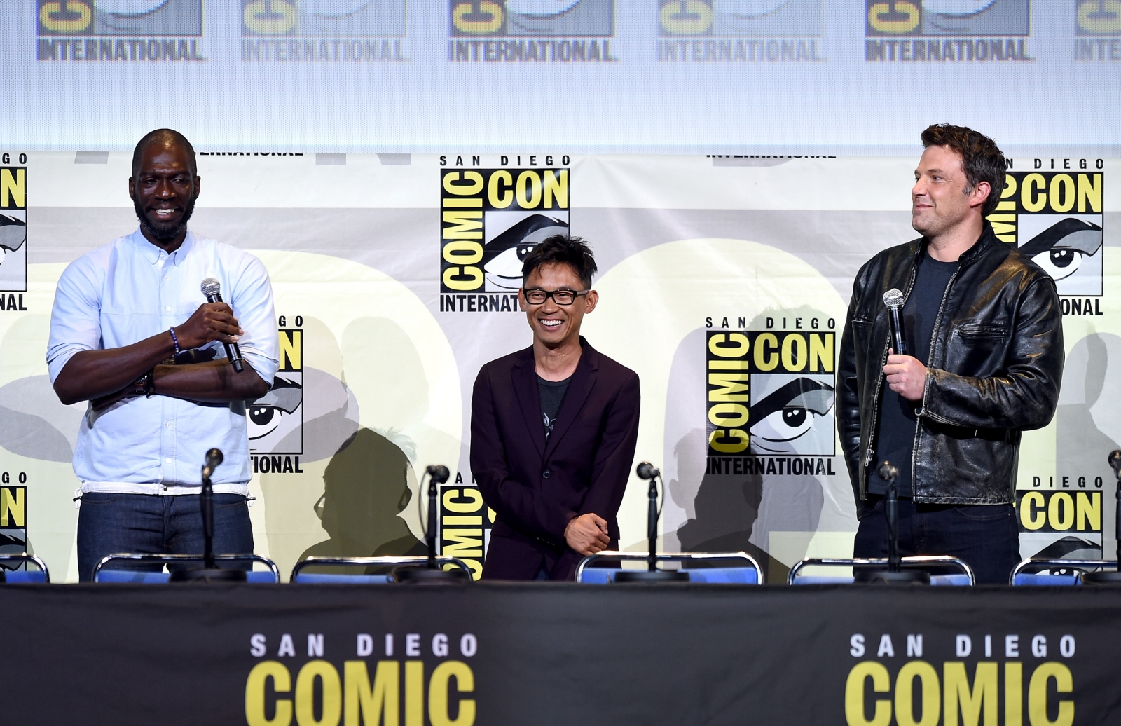 Warner Bros directors at Comic-Con 2016