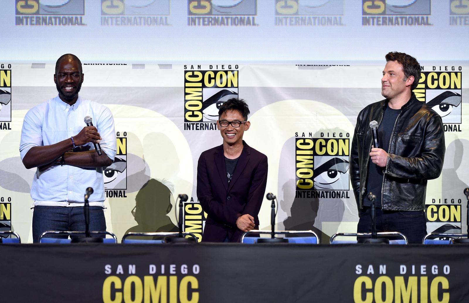 Warner Bros directors at Comic-Con 2016