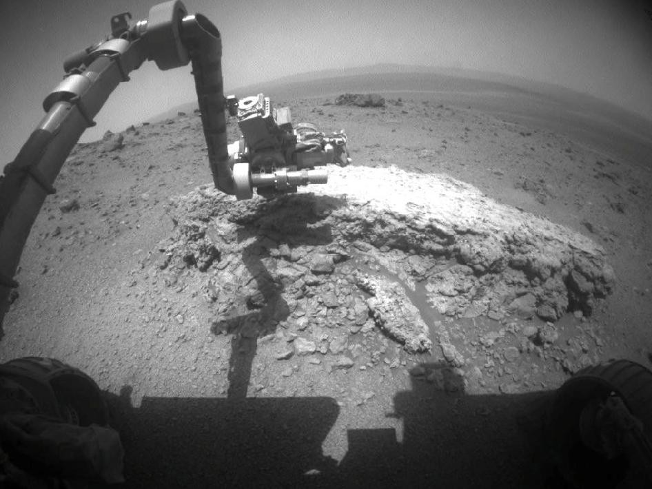 NASA's Mars Rover Opportunity Searches Martian Crater For Signs of Alien Life