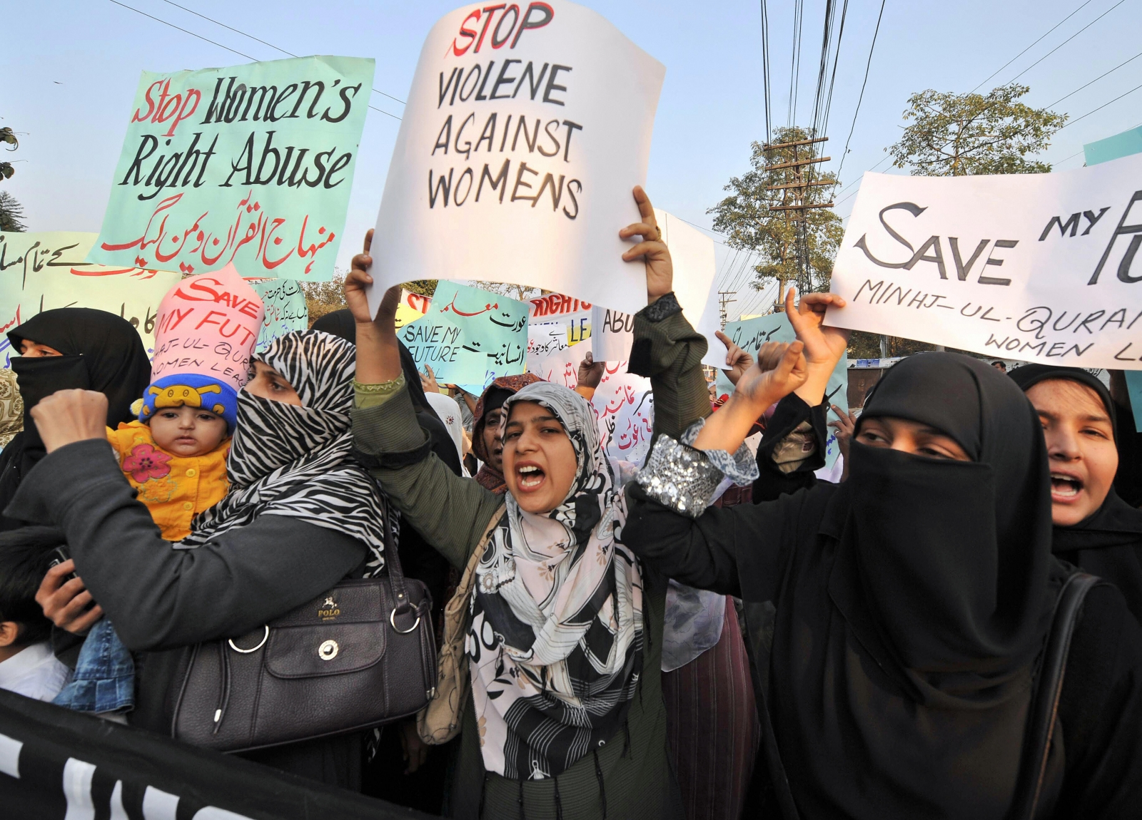 Pakistan honour killing protest