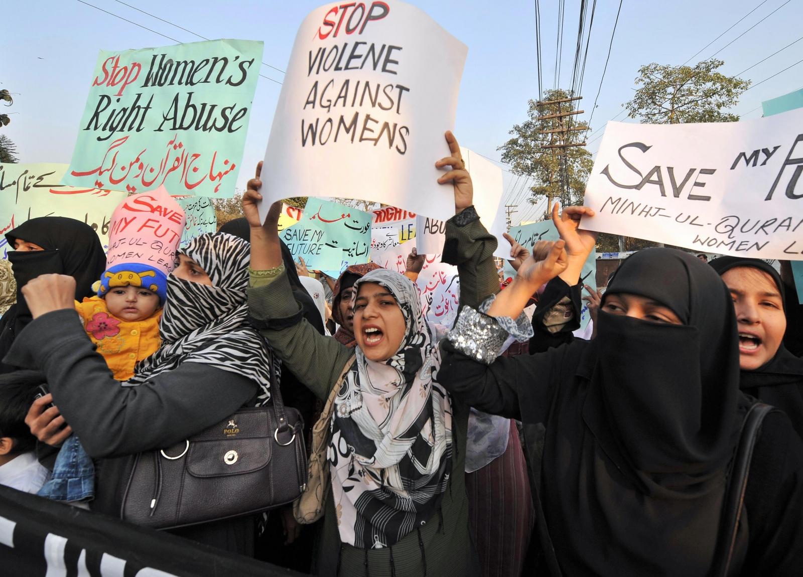 Pakistan honour killing protest