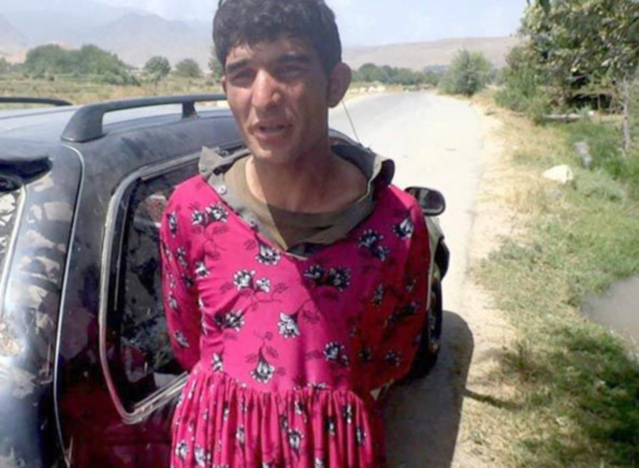 Afghan man in dress
