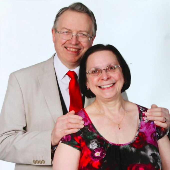 Wedding guests Derek and Joy Green died in a road crash in North Yorkshire