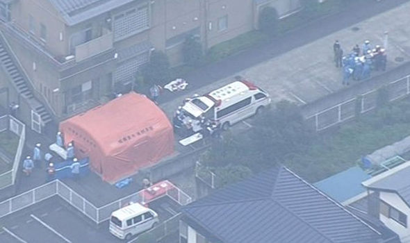 A knife-wielding assailant is said to have attacked people at the Sagamihara facility