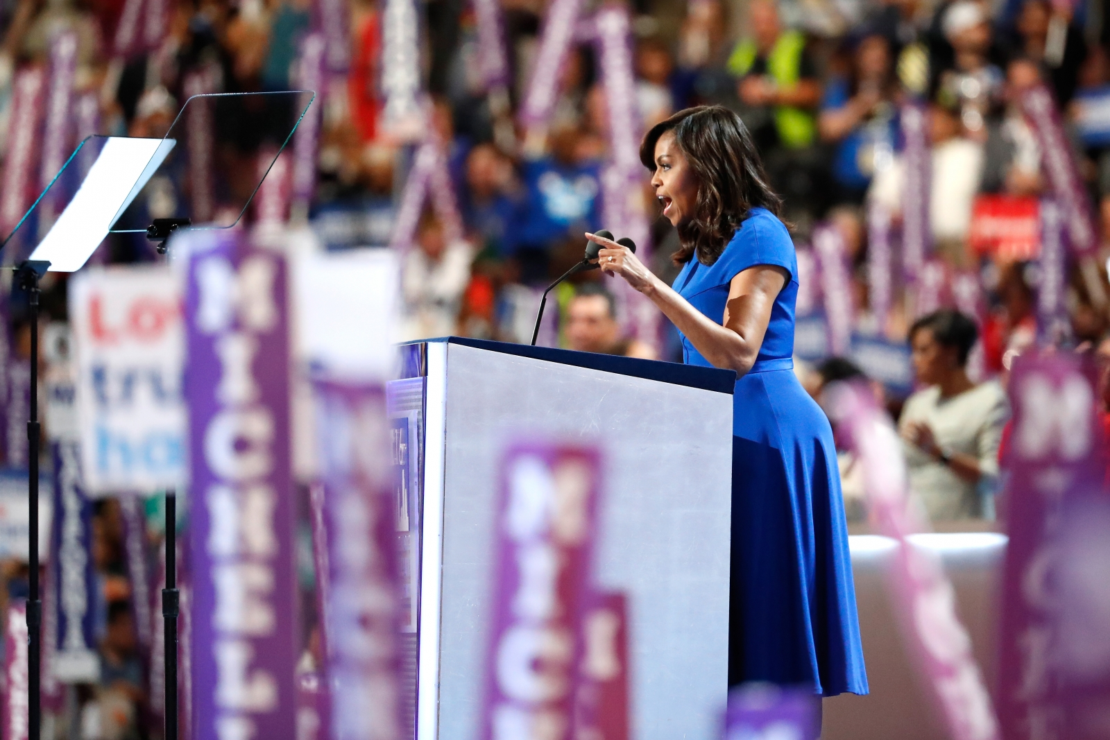 Michelle Obama at DNC