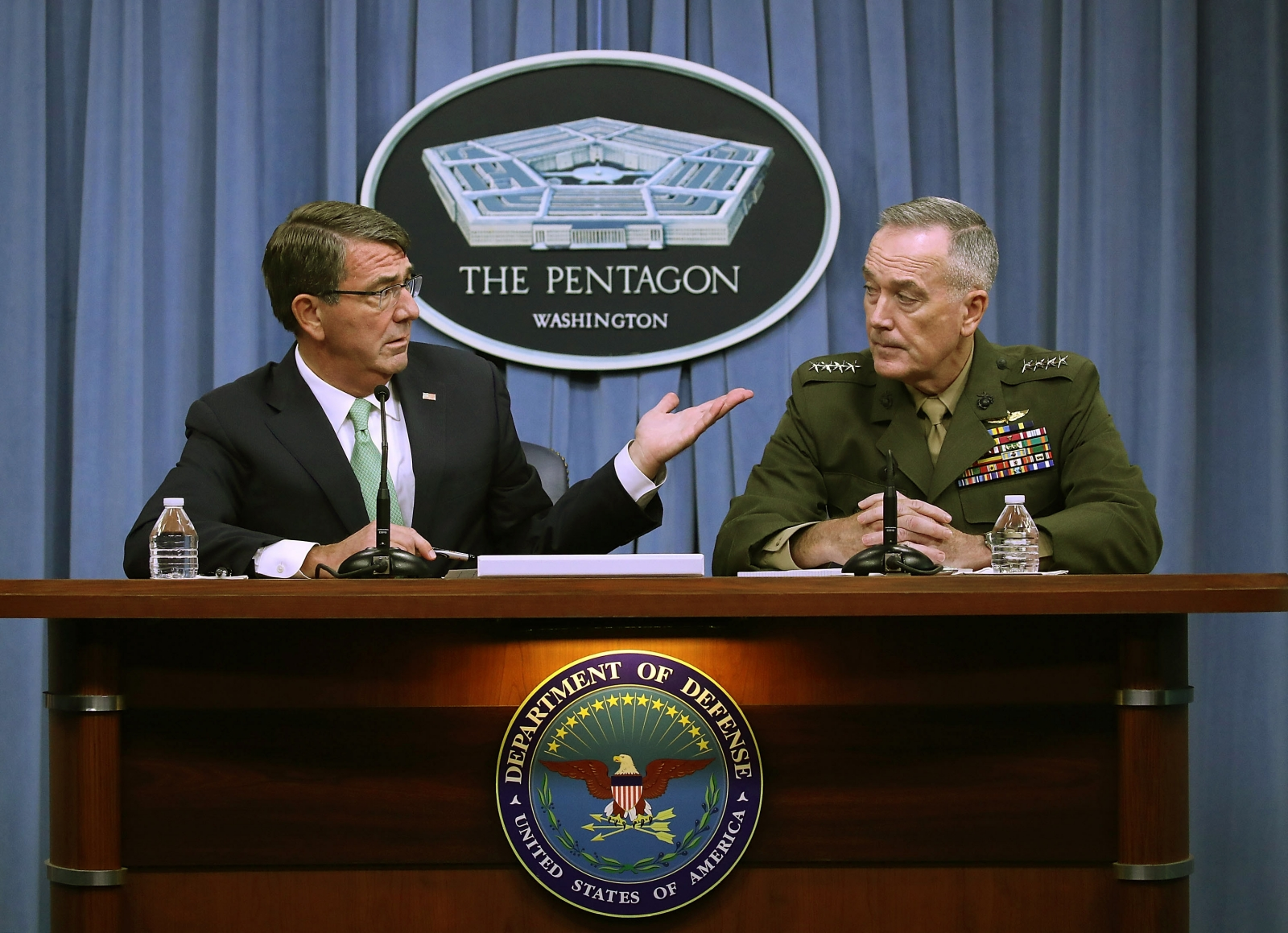 Pentagon on Russia deal in Syria
