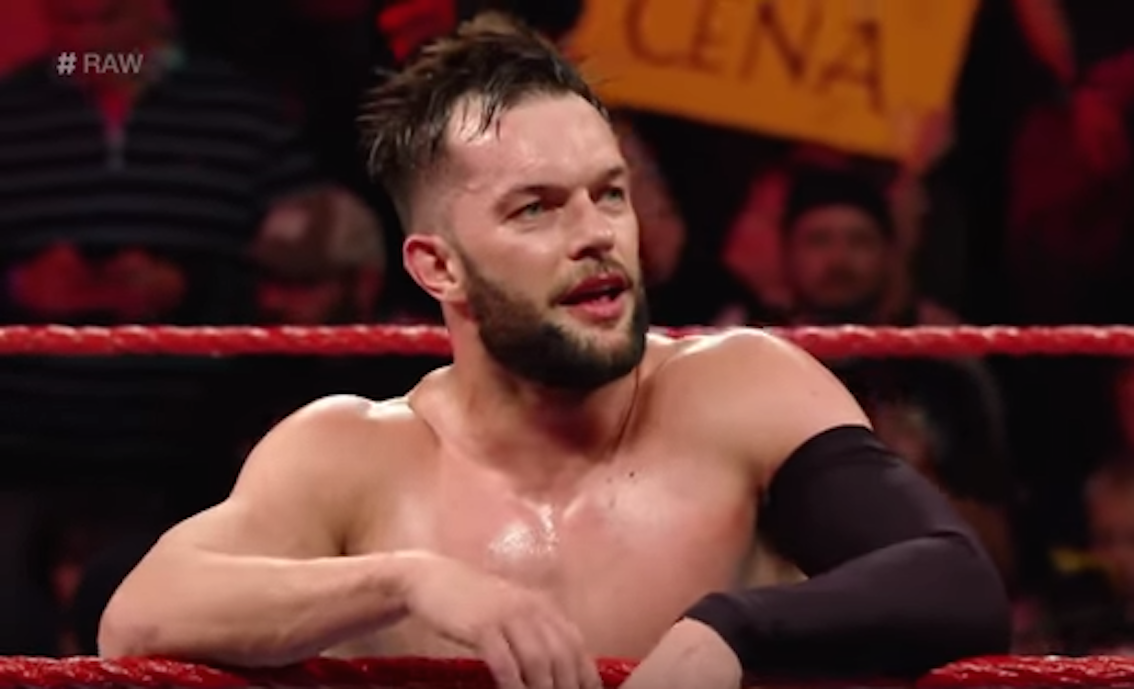 Finn Balor's WWE Raw debut
